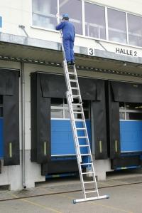 Лестница Stabilo 3х12 ступеней Profi