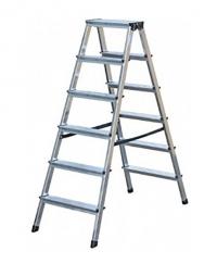 Лестница-стремянка Dopplo 2x6 ступеней