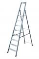 Лестница-стремянка 8 ступеней, анодированная