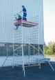Передвижная вышка ProTec XXL, широкая конструкция. Рабочая высота - 3.30 м