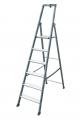 Лестница-стремянка 6 ступеней, анодированная